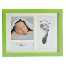 Goldbuch Portraitrahmen First Steps green  930117  exklusiver Baby Rahmen