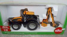 Siku 1:32 3659 Valtra Traktor mit Kuhn Böschungsmähwerk NEU OVP