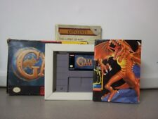 Super Nintendo SNES Illusion of Gaia Game In Box Tested Works
