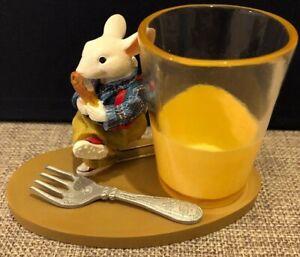 Stuart Little Snack Time Figurine by Madame Alexander NWOB