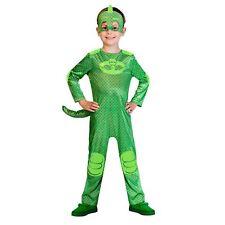 Kids PJ Masks Gekko Boys Fancy Dress Costume 5-6 Years 9902957