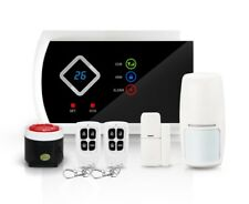 Wireless LCD GSM SMS Home Security Burglar Intruder House Alarm Auto Dialer U.K.