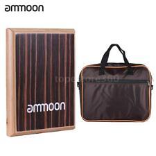 ammoon Compact Travel Box Drum Cajon Flat Hand Drum Percussion Instrument C7F9
