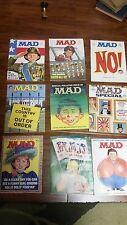 Lot of 9 Mad Magazines 1971