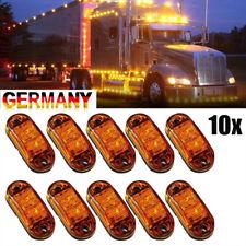 10x LED Seitenmarkierungsleuchte Begrenzungsleuchten 12V/24V Anhänger Auto LKW