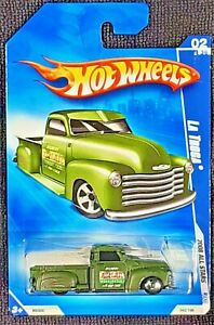 2008 Hot Wheels All Stars #042/196 La Troca VHTF GREEN Variation M6908