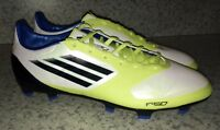 ADIDAS F30 AdiZero Synthetic TRX FG White Soccer Cleats Boots NEW Mens Sz 6.5 11