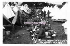 rt0341 - Liverpool Infantry Brigade at Denbigh Camp Wales 1913 - photograph 6x4