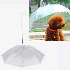 Originall Top Transparent PE Pet Umbrella Small Dog Umbrella Rain Gear with Dog