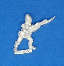 PRAETORIAN GUARDSMAN WITH LASGUN 4 - OOP Metal - Warhammer 40k Trooper Militarum