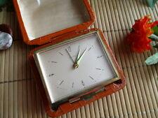 Alte Uhr, Reise Wecker, Zentra, um 1970, mechanisch, IA, alarm clock  #1403