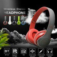 Drahtlose Bluetooth-Kopfhörer Stereo-Headset Noise Cancelling Ear mit Mikrofon