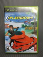 Splashdown (Microsoft Xbox, 2002) Original OG Game Atari COMPLETE & TESTED !!
