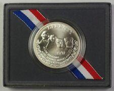 1991 Mount Rushmore Commemorative Silver Dollar $1 UNC As Issued w/ Box & COA