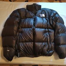 north face nuptse taglia L nero