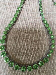 Martine Wester - Stunning Green Necklace