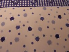 Dolls House Miniature 1 12th Scale Wallpaper Interior Decor Damask Blue (wp736)
