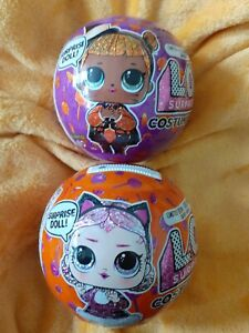 LOL Surprise Doll Halloween 2021 Costume Glam Set of 2 Baby Cat&Countess 🎃🎃🎃