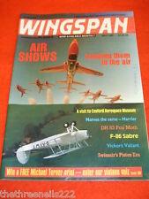 WINGSPAN # 53 - DH 83 FOX MOTH - MAY 1989