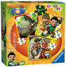 Tree Fu Tom 3 In A Box Ravensburger Jigsaw Puzzle 25/36/49 Pieces