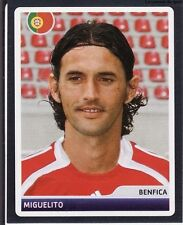 N°220 MIGUELITO PORTUGAL BENFICA CHAMPIONS LEAGUE 2007 STICKER  PANINI PORTUGAL