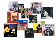 10 FRENCH MUSIC CD LOT traditional chanson,contemporary rock pop r&b NEW ~France
