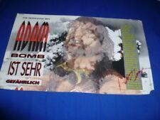 ADAM BOMB  signed  Autogramm In Person MAGAZIN DOPPELS.