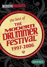BEST OF MODERN DRUMMER FESTIVAL 1997-2006 NEW DRUM DVD