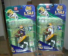 McFARLANE COLLEGE NCAA 1 NFL JaMARCUS RUSSELL REG & VARIANT CHASE LSU TIGERS