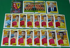 PANINI FOOTBALL FOOT 2005 RC LENS BOLLAERT SANG & OR COMPLET FRANCE 2004-2005