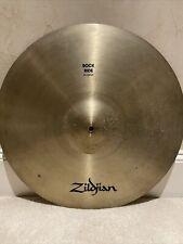 "Vintage Avedis Zildjian A 21"" Rock Ride Cymbal"
