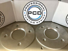 Pair 4x100 Shim Spacers, 5mm Wide 60.1CB CLIO MEGANE UK Made