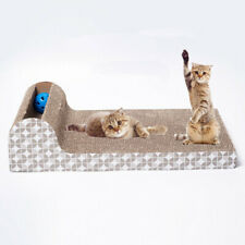 Cat Scratch Board Corrugated Pad Scratcher For Pets Bed Mat Claws Care Toys New