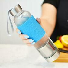 GROSCHE Marino Fruit & Tea Hot/Cold Brew Infuser Bottle 18.6 fl oz 550ml Blue