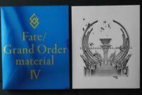 JAPAN Type-Moon: Fate/Grand Order Material IV (FGO Book)