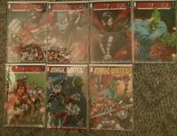 IMAGE UNITED (2009) # 1 & #2 LOT Connecting VARIANT Covers