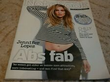 UK SUNDAY MIRROR NOTEBOOK MAGAZINE JENNIFER LOPEZ 15/02/15