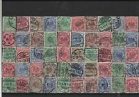 Germany early used Reichspost Stamps with good cancels Ref 14248