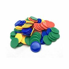 SmartDealsPro Set of 100 1 Inch Plastic Learning Counting Counters Game Token...