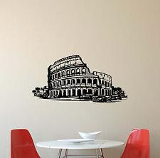 Coliseum Wall Decal Rome Italian Vinyl Sticker Bedroom Decor Poster Mural 392