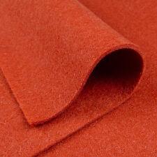 Woolfelt Cider ~ 22cm x 45cm 100% wool / felt Christmas decorations rust orange