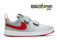 Nike Pico 5 Grigio Rosso Scarpe Bambino Shoes Sportive Sneakers AR4161 004 2020