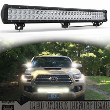 28 inch LED Light Bar 180W Straight Combo Offroad For Toyota Tundra SR/SR5