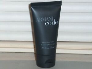 ARMANI CODE by GIORGIO ARMANI After Shave Balm, Aftershave, 2.5 oz., 75 ml, New