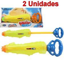 2 Unidades de Juguete Pistola de Agua infantil 45 cm, edad +3 años, niño, niña