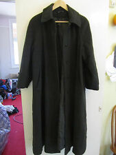 Long Dark Grey Wool Cashmere Blend BHS in Size 14 Petite