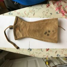 WWII US Vet Bring Back Heavy Battle Used Wounded Legging Gaiters Gear Relic