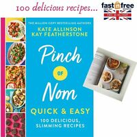 Pinch of Nom Quick & Easy 100 Delicious Slimming Recipes Hardcover Excellent NEW