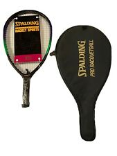 """Vintage Spalding Pro Epic 20.5"""" Graphite Racquetball Racquet - Brand New"""