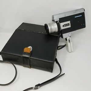 Canon Zoom 518 Super 8 Camera UNTESTED AS-IS in Original Case Used Condition